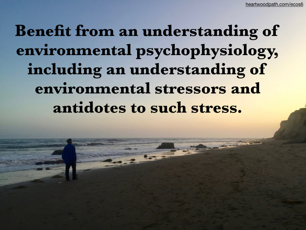 picture-don-pierce-life-coach-saying-Benefit from an understanding of environmental psychophysiology, including an understanding of environmental stressors and antidotes to such stress.