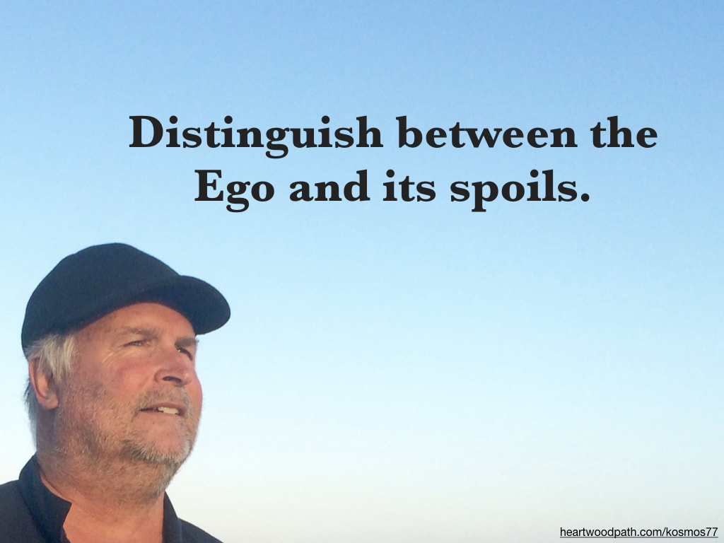 picture-life-coach-don-pierce-saying-Distinguish between the Ego and its spoils