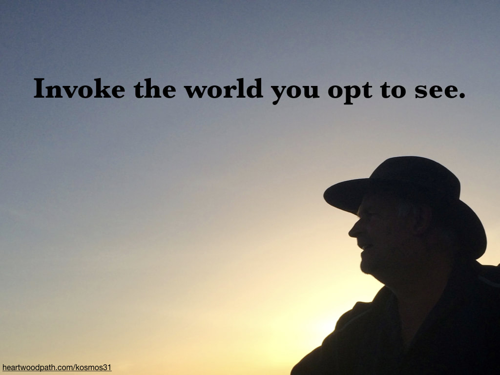picture-of-life-coach-don-pierce-saying-Invoke the world you opt to see