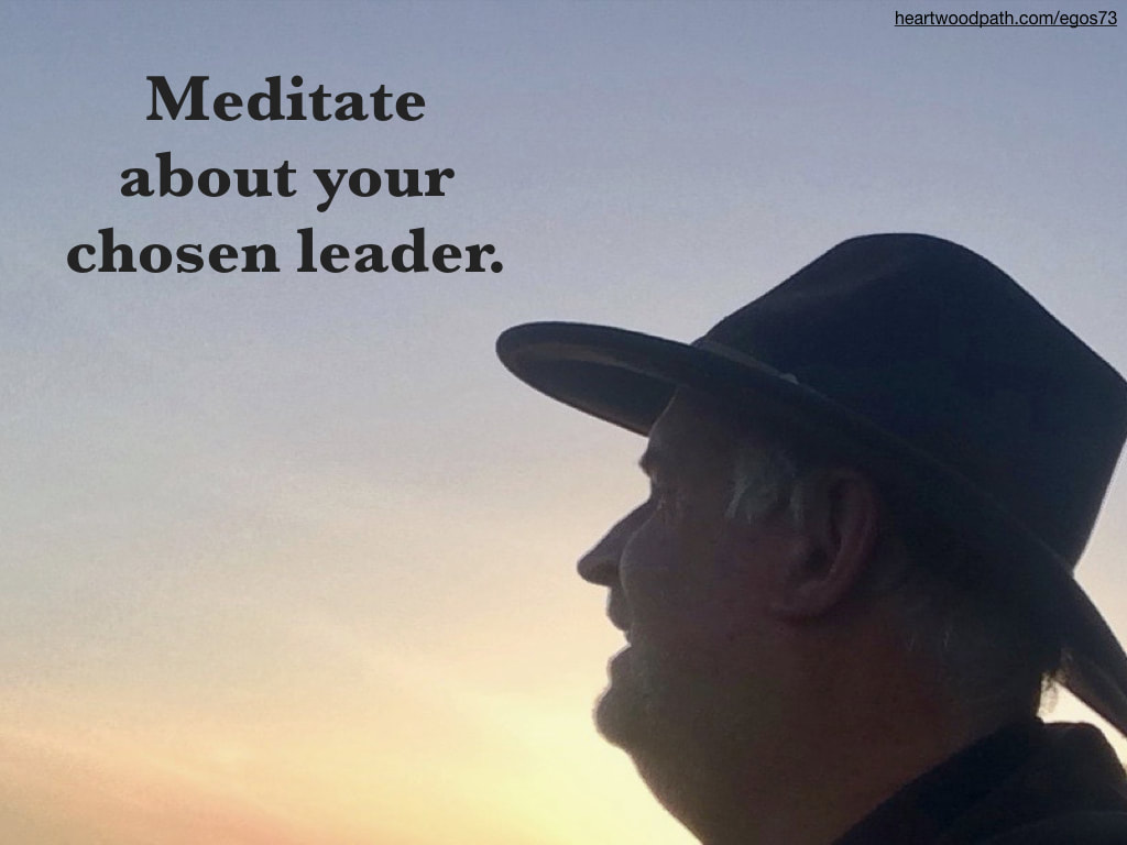 picture-don-pierce-life-coach-saying-Meditate about your chosen leader