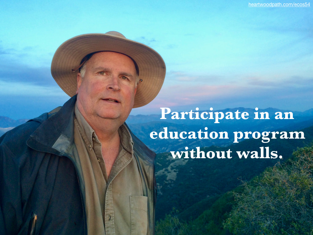 picture-don-pierce-life-coach-saying-Participate in an education program without walls