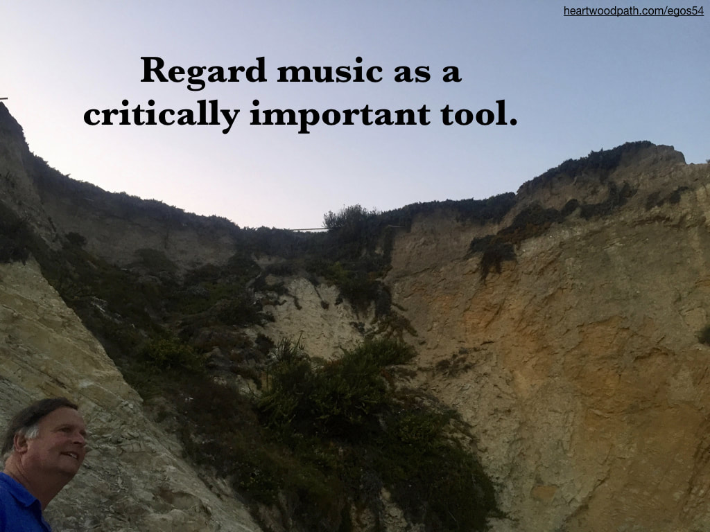 picture-don-pierce-life-coach-saying-Regard music as a critically important tool