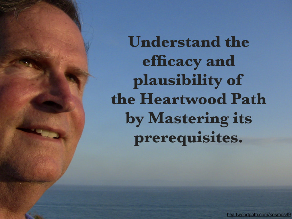 picture-of-life-coach-don-pierce-saying-Understand the efficacy and plausibility of the Heartwood Path by Mastering its prerequisites