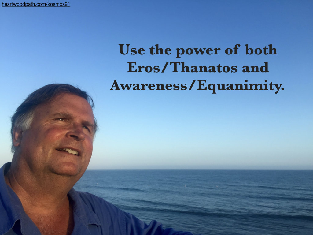picture-life-coach-don-pierce-saying-Use the power of both Eros/Thanatos and Awareness/Equanimity